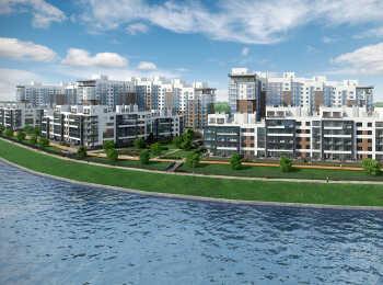 Видовые квартиры на набережную в жилом комплексе Жемчужный берег